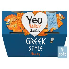 Yeo Valley Greek Style Yogurt with Honey