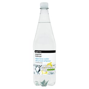 Essential Sugar Free Tonic Water with Lemon