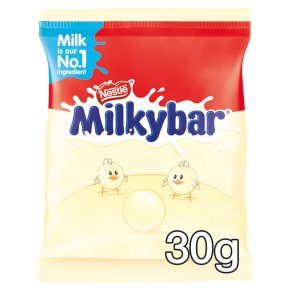 Nestlé milkybar buttons