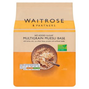 Waitrose Muesli Base