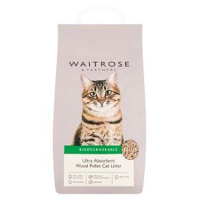 Waitrose Wood Pellet Cat Litter