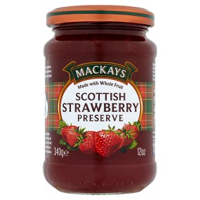 Mackays preserve strawberry