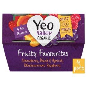 Yeo Valley Fruity Favourites Yogurts