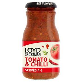 Loyd Grossman Tomato & Chilli Sauce