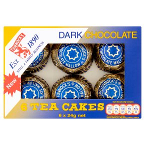 Tunnock's tea cakes dark chocolate