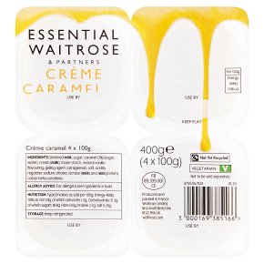 Essential Crème Caramel