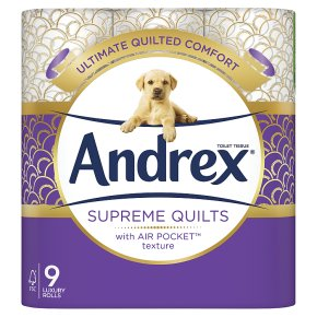 Andrex Toilet Tissue Supreme Quilts