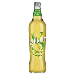 Shloer sparkling juice drink white grape