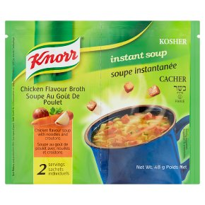 Knorr 2 instant soup chicken