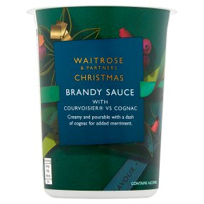 Waitrose Christmas Brandy Sauce