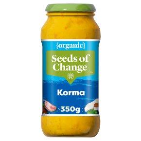 Seeds of Change korma indian sauce