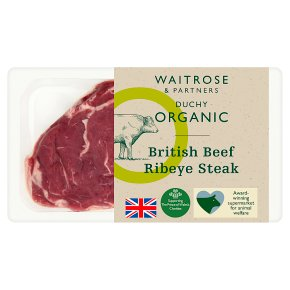 Duchy from Waitrose British beef rib steak