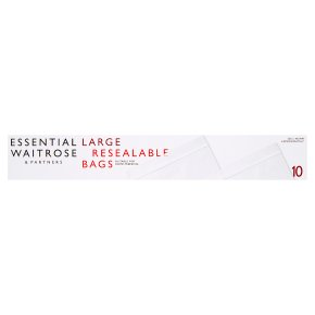 Essential Large Reclosable Bags
