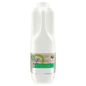 Duchy Organic Semi-Skimmed Milk