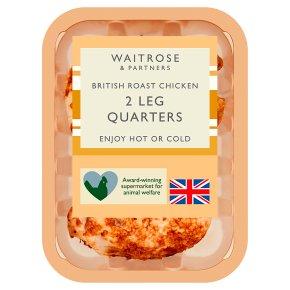 Waitrose British 2 Roast Chicken Leg Quarters