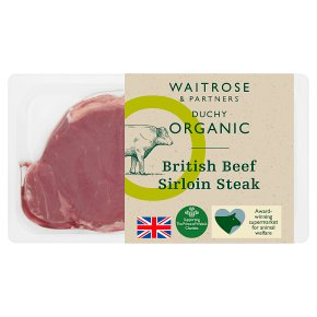Duchy Organic British Beef Sirloin Steak