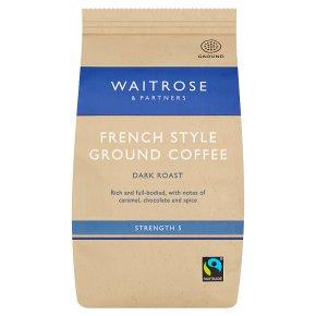 Waitrose French Style Ground Coffee