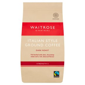 Waitrose Italian Style Ground Coffee