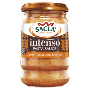 Sacla' Italia intenso stir in tomato & mascarpone