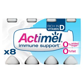 Actimel 0% Fat 0% Added Sugar Original Drinks