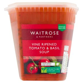 Waitrose Tomato & Fresh Basil Soup