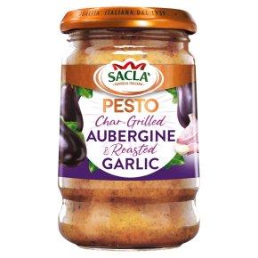 Sacla' Italia char-grilled aubergine pesto