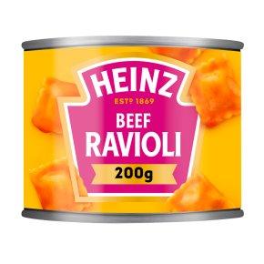 Heinz ravioli in tomato sauce