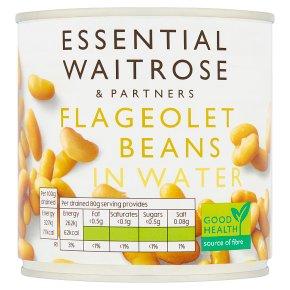 Essential Flageolet Beans in Water
