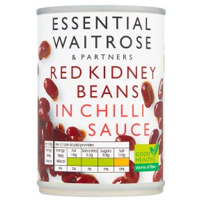 Essential Red Kidney Beans in Chilli Sauce