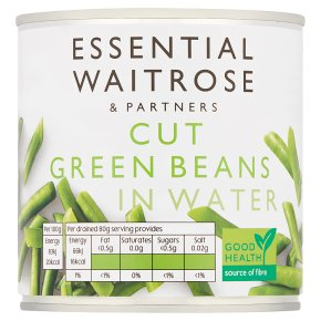 Essential Cut Green Beans in Water