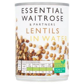 Essential Lentils in Water