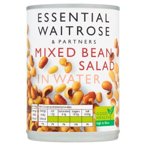 Essential Mixed Bean Salad in Water