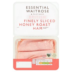 Essential British Finely Sliced Honey Roast Ham