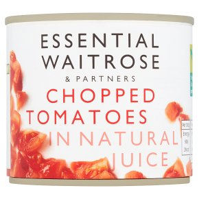 Essential Chopped Tomatoes in Natural Juice