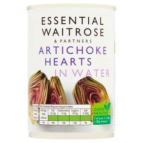 Essential Artichoke Hearts in Water