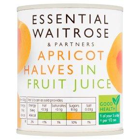 Essential Apricot Halves in Fruit Juice