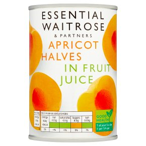 Essential Apricot Halves in Fruit Juice
