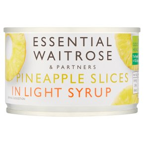Essential Pineapple Slices In Light Syrup