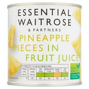 Essential Pineapple Pieces In Fruit Juice