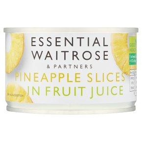 Essential Pineapple Slices In Fruit Juice