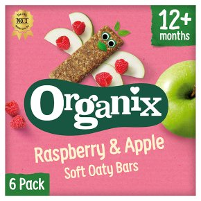 Organix Raspberry & Apple Oat Bars