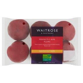 Waitrose Perfectly Ripe Plums