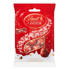 Lindt Lindor Milk Chocolate Mini Truffles