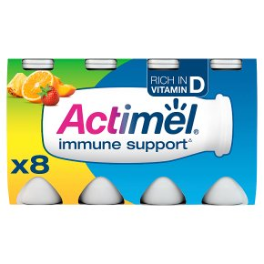 Actimel multifruit yoghurt drink