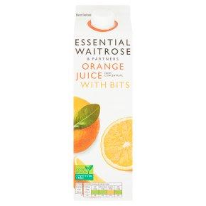 Essential Orange Juice with Bits