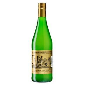 Norfolk Cider Co. medium dry cider