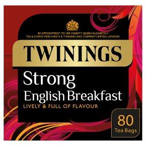 Twinings Strong English Breakfast 80 Tea Bags