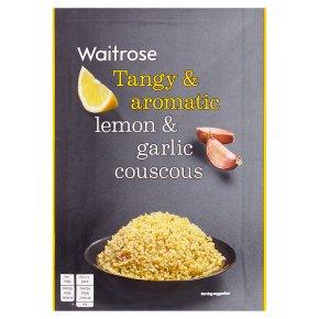 Waitrose lemon & garlic couscous