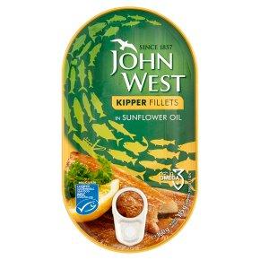 John West Kipper Fillets in Sunflower Oil