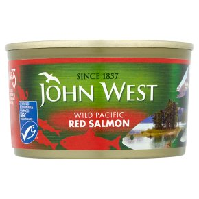 John West Wild Pacific Red Salmon